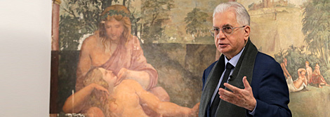 """The Spirit of Raphael and the Foot of Giulio Romano"". A new instalment of Mikhail Piotrovsky's Hermitage TV series"